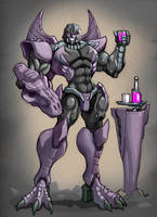Megatron: Transformers Beast Wars by ZeroMayhem