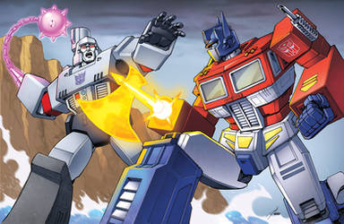 Optimus Prime vs Megatron: Sherman Dam