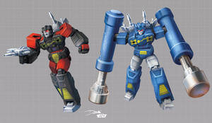 Frenzy and Rumble: Transformers