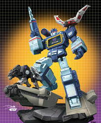 Soundwave: Transformers by ZeroMayhem