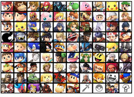Super Smash Bros Ultimate Roster Prediction by SuperMario643DS