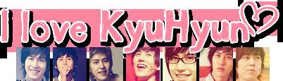 SNSD es el grupo con el mejor apoyo de  su club de fans!! I_love_KyuHyun_by_KyuBel