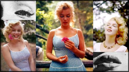 Nature - a Marilyn wallpaper