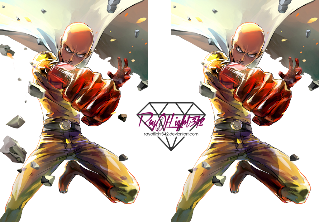 saitama_one_punch_man__render__by_rayofl