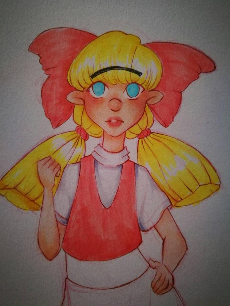 Helga Pataki fan art #3 by micro-ceil