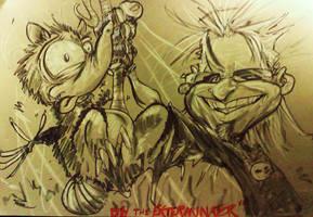 Billy the Exterminator by lancesart