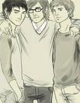 Al, James and Hugo