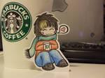 Nao loves Starbucks
