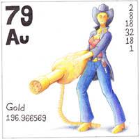 Element Gold by Jonishan