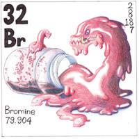 Element Bromine by Jonishan