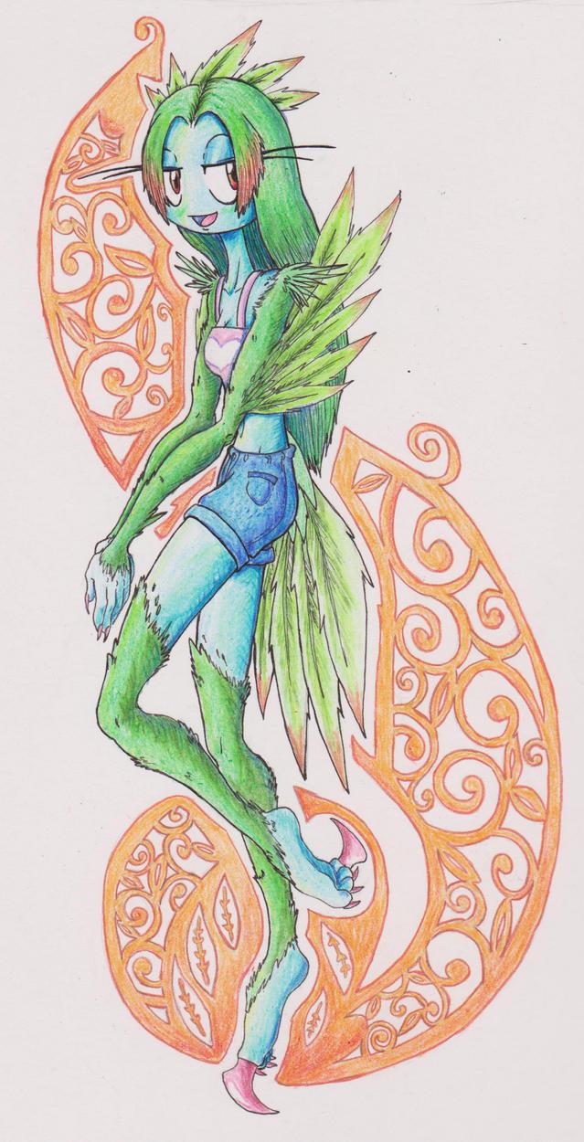 Mint the Siren by Jonishan