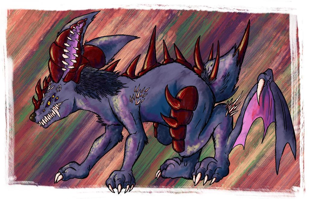 Demon Rabbit by Jonishan