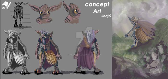 Concept art Shajo