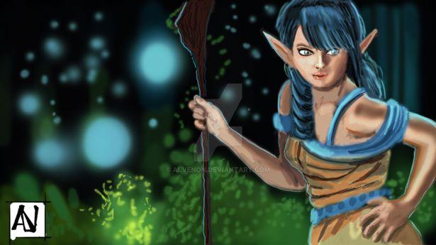 Sketch Elf by alvenon