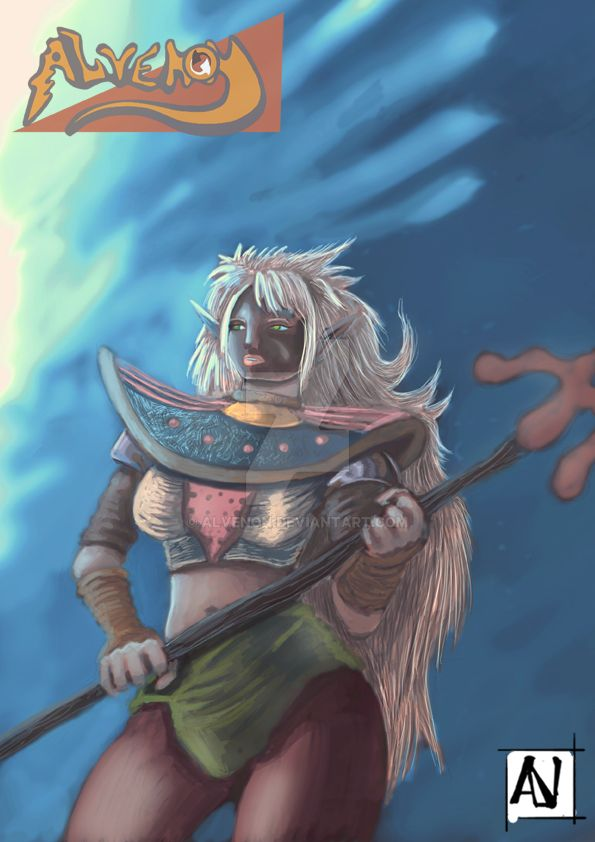 Sketch Elf 2 by alvenon