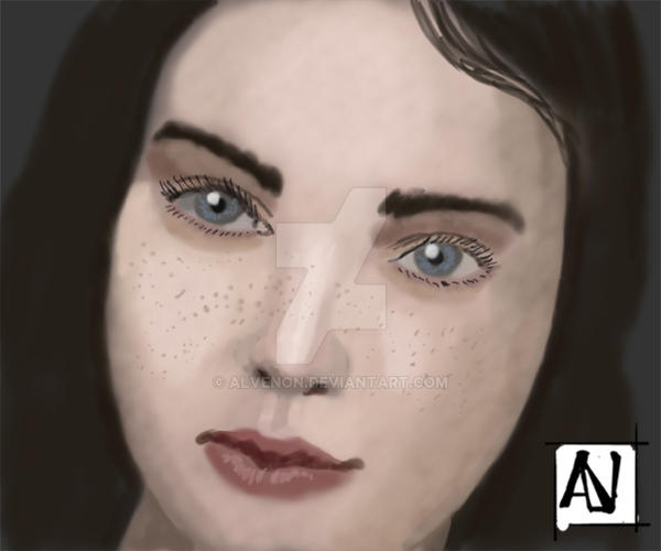 woman #2 skecth by alvenon