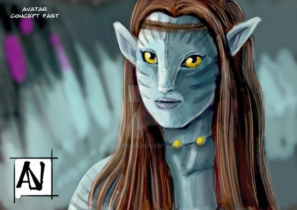 Avatar concept fast by alvenon