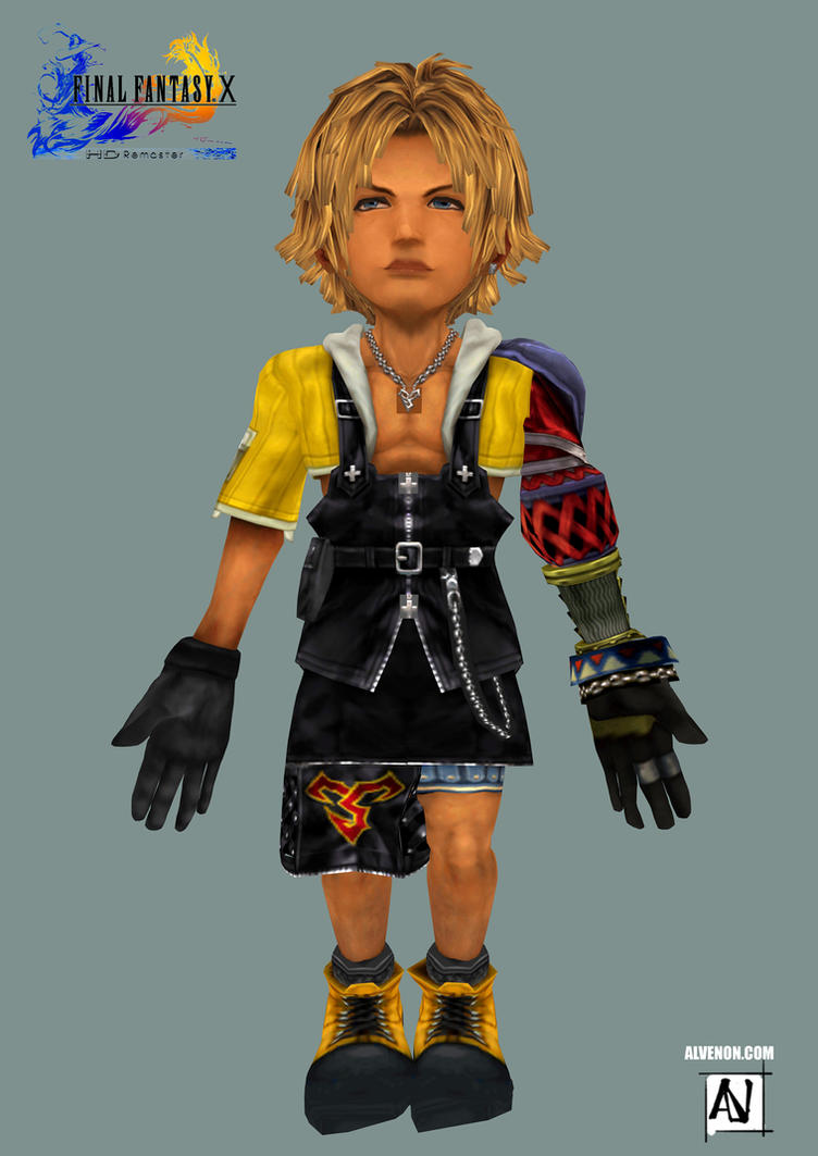 Tidus FF10 ff9version by alvenon