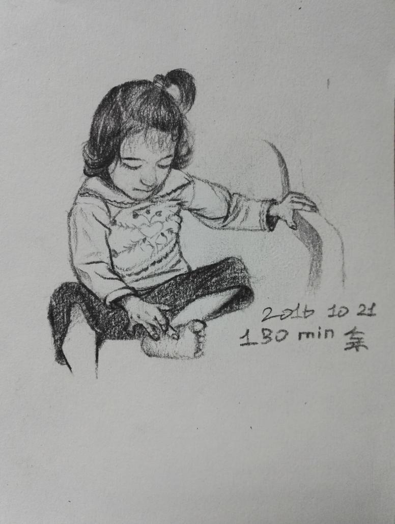 Sketch_Girl by ChaosHifa