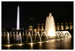 WWII Memorial by eaglesgal54