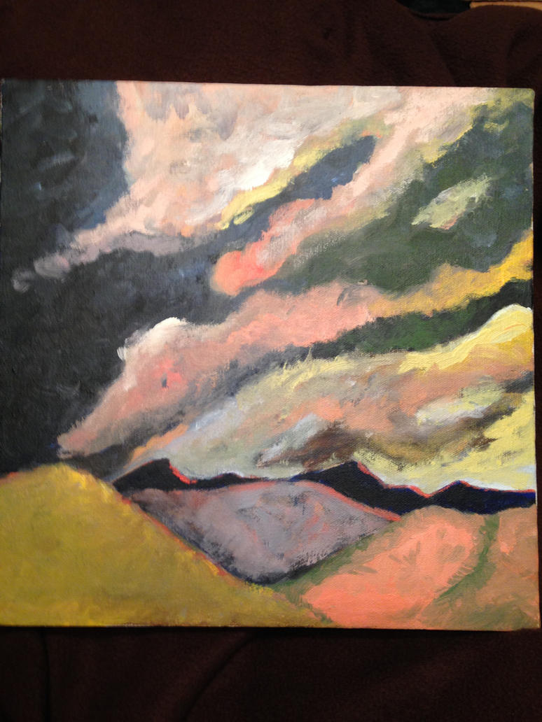Stormy Sunset at Dinosaur National Monument by nezuko