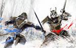 Undead Samurai by Madspeitersen