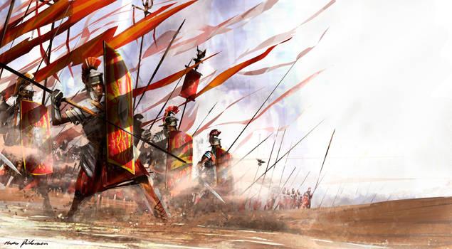 Praetorian Guard by Madspeitersen
