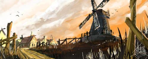 Speedpaint - Mill by Madspeitersen