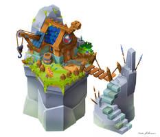 Viking House by Madspeitersen