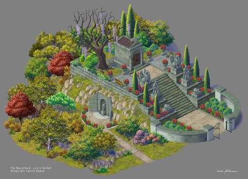 Lilys Garden art. The Mausoleum - Fixed Version