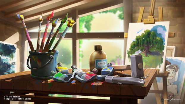 Lilys Garden Art. Arthurs Atelier