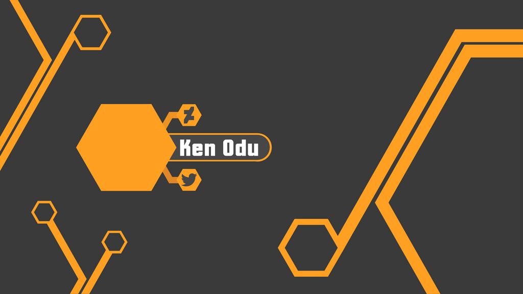 YouTube Banner, Default Design by Ken-Odu on DeviantArt