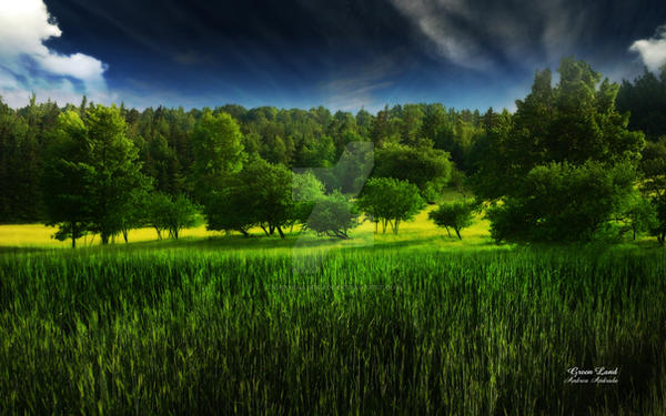 Green Land by AndreaAndrade
