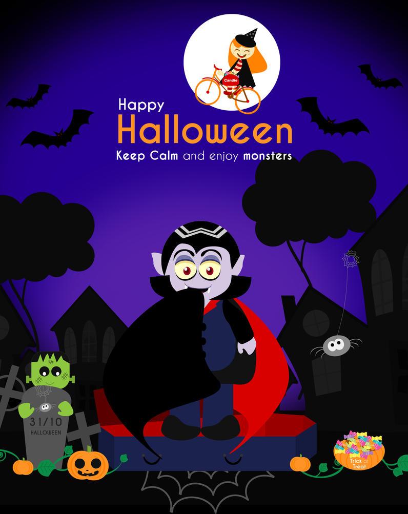 Happy Halloween by AndreaAndrade