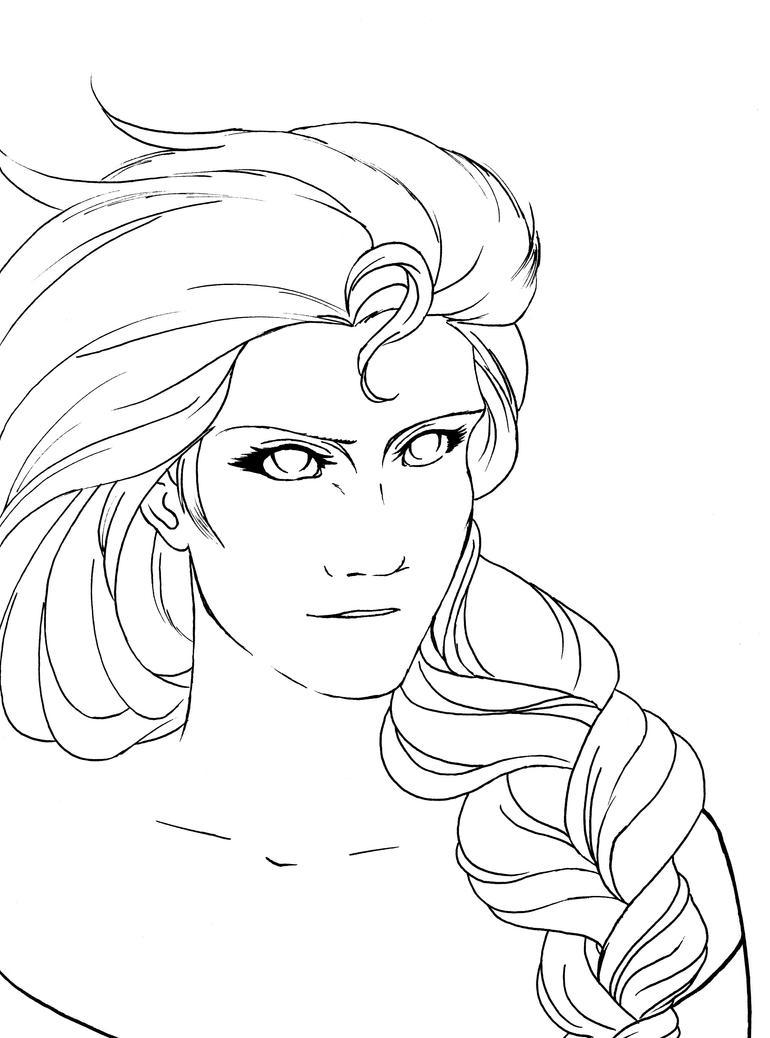 Elsa D'Arendelle Frozen by Fanwen