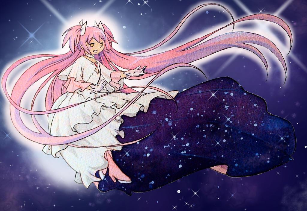 Goddess Madoka by Fanwen