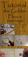Tutorial: the Golden Fleece wire earrings