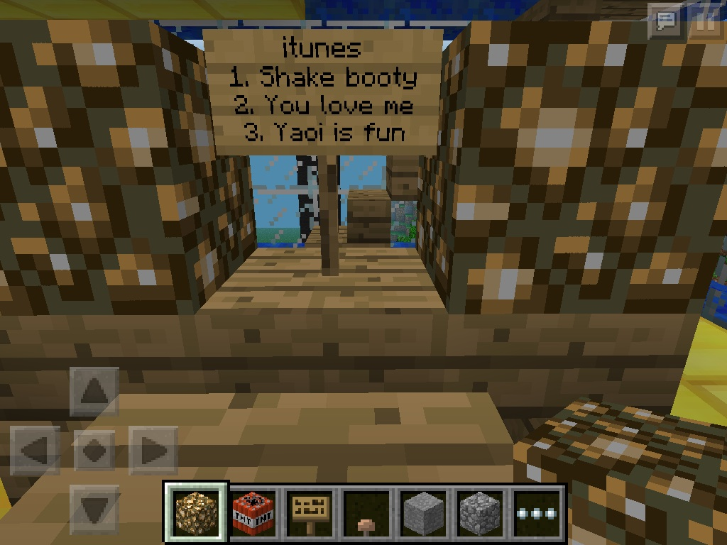 how to make a sign shop in minecraft