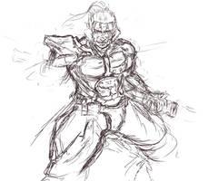Jetstream Sam Sketch