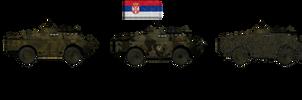 Serbian BRDMs