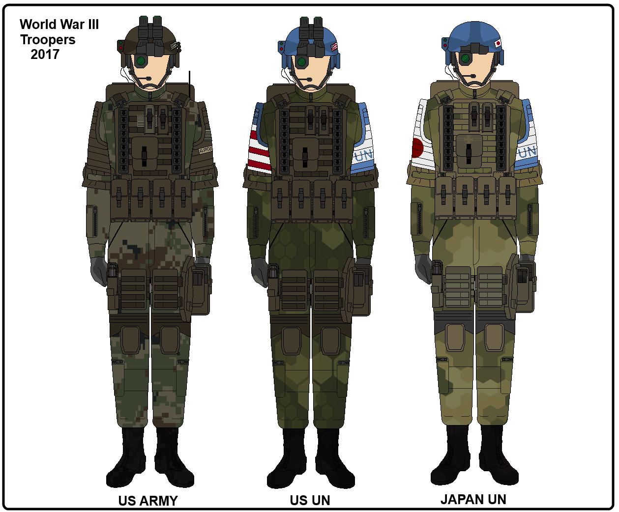 WWIII Troopers [UN] by Milosh--Andrich