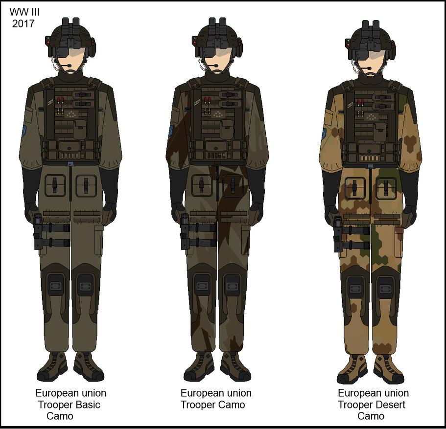 WWIII Troopers [EU] by Milosh--Andrich