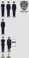 Metro City Police Uniform chart by Milosh--Andrich