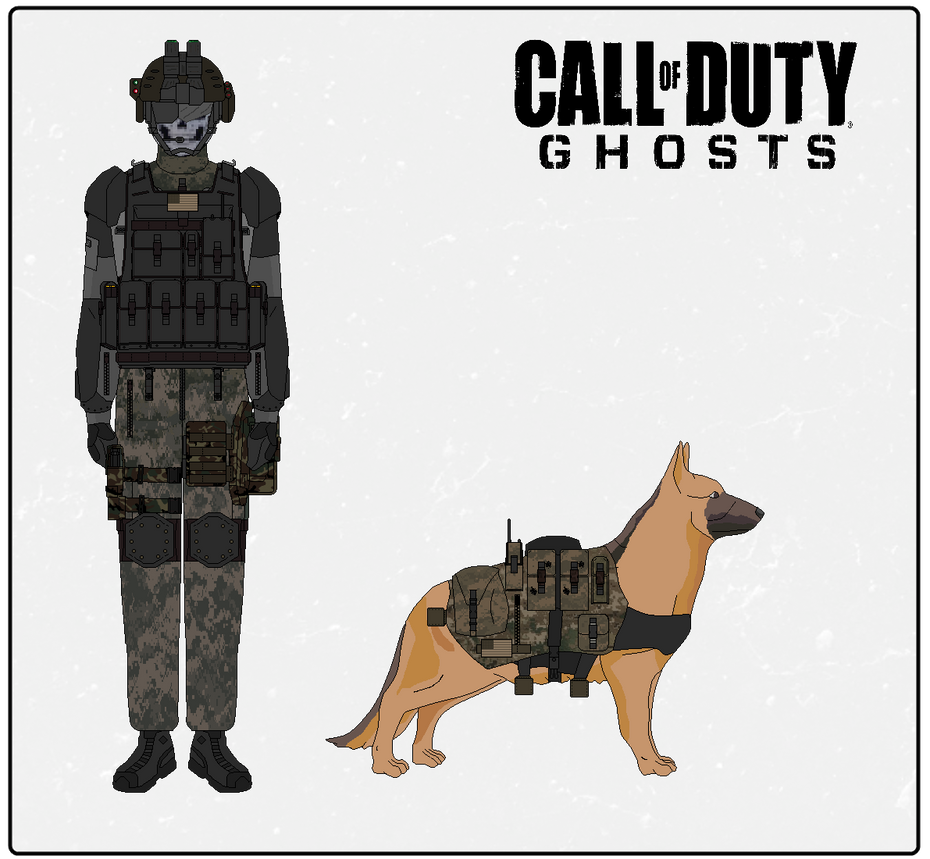 Call of Duty Ghost Concept by Milosh--Andrich