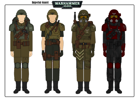 Imperial Guard  -  Warhammer 40K
