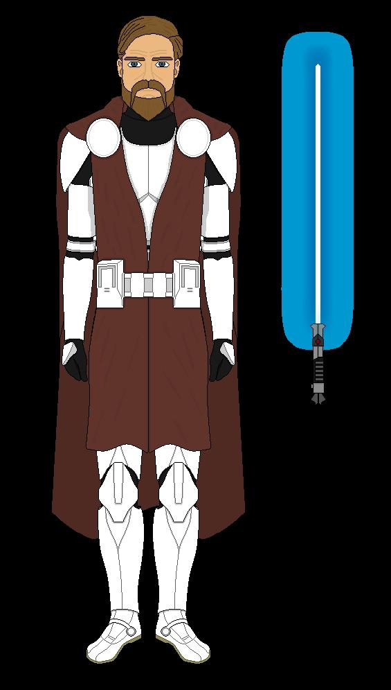Obi Wan Kenobi's Clone/ General Armor by Milosh--Andrich