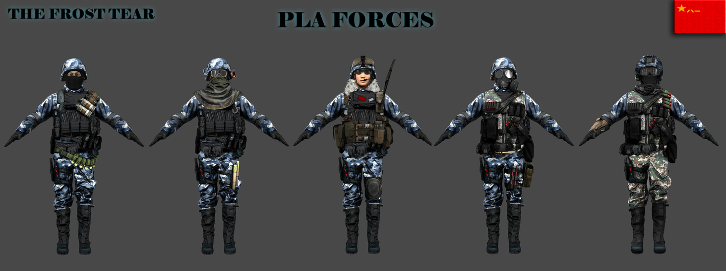 TfT PLA Forces by Milosh--Andrich