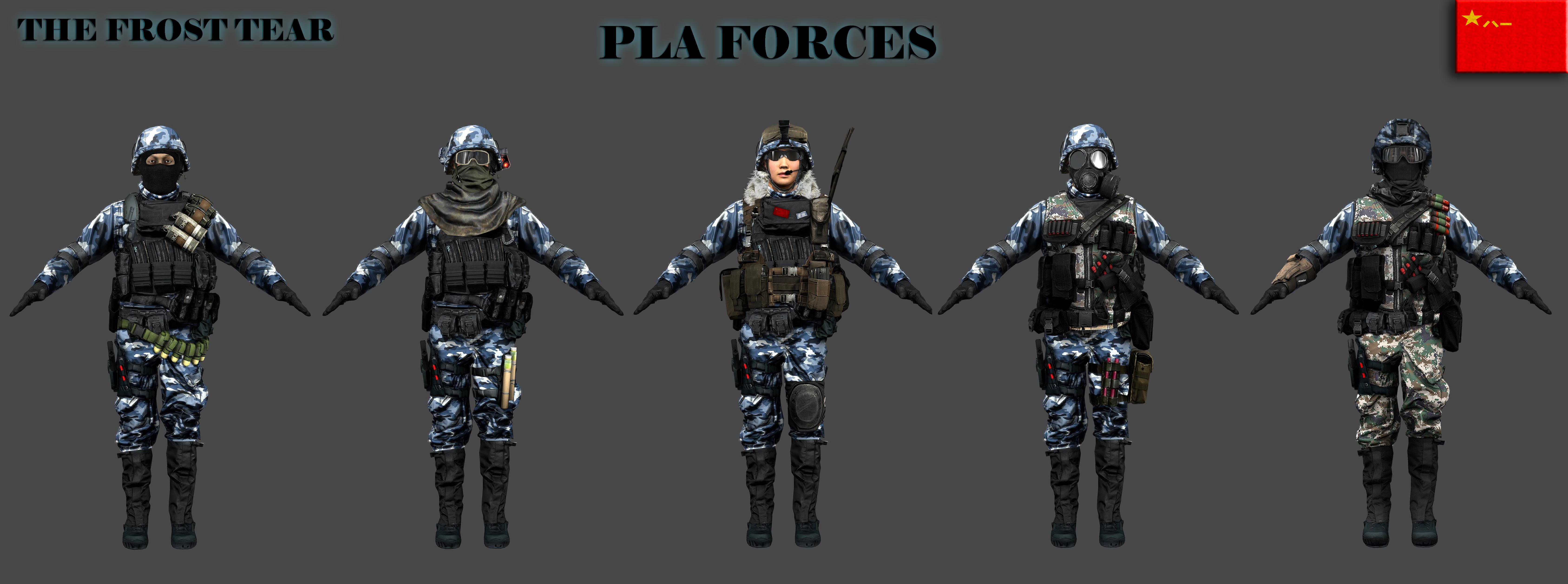 TfT PLA Forces by Milosh--Andrich on DeviantArt