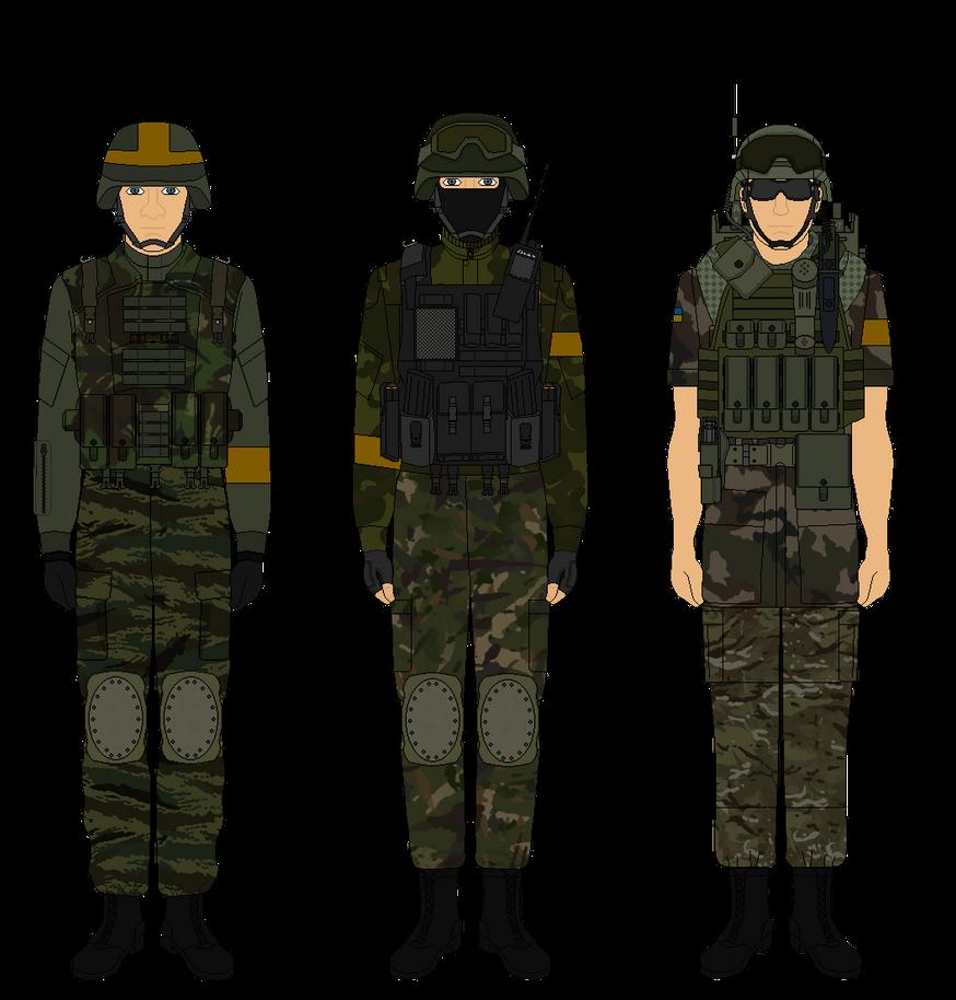 Ukranian Soldiers 2014 by Milosh--Andrich