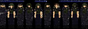 Yugoslavian Police (Milicija) Kosovo 1999